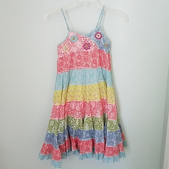NWT Mimi and Maggie Petals Dress sz 6 6X